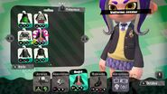 Detalle del uniforme escolar - Splatoon 2