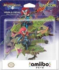 Embalaje del amiibo de Rathian y Cheval - Serie Monster Hunter