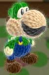 Patrón Luigi - Yoshi's Woolly World