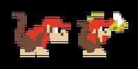 Traje de Diddy Kong - Super Mario Maker