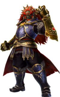 Artwork de Ganondorf en Hyrule Warriors