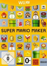 Caja de Super Mario Maker (Europa)