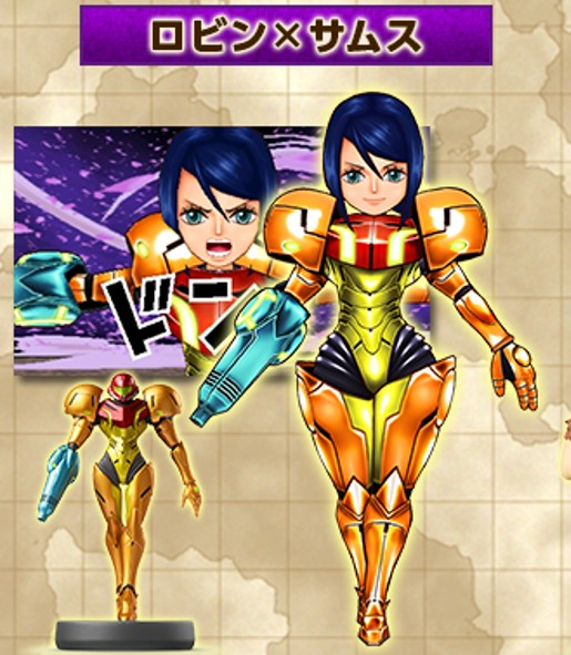 One Piece Super Grand Battle X: Disfraz De Samus Para Nico Robin