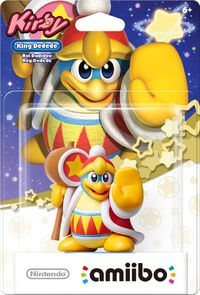 Embalaje americano del amiibo del Rey Dedede - Serie Kirby