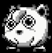 Sprite de Jigglypuff en Pokémon Edición Verde