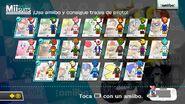 Pantalla de amiibo compatibles en Mario Kart 8
