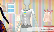 Peach corsé - Nintendo presenta New Stlye Boutique 3 Estilismo para celebrities