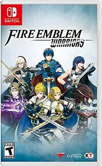 Caja de Fire Emblem Warriors (Switch) (América)