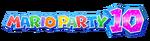 Logo de Mario Party 10
