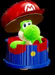 Atuendo de manualidad de Mario - Yoshi's Crafted World
