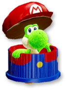 Atuendo de manualidad de Mario - Yoshi's Crafted World