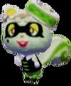 Aldeana Ardelta en Animal Crossing New Leaf - Welcome amiibo