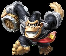 Dark Turbo Charge Donkey Kong en Skylanders SuperChargers