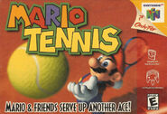 Caja de Mario Tennis