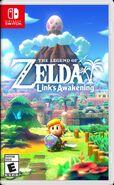 Caja de The Legend of Zelda Link's Awakening (América)