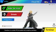Pantalla de edición de amiibo PAL - Super Smash Bros. Ultimate