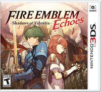 Caja de Fire Emblem Echoes Shadows of Valentia (América)