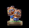 Amiibo Tendo y Nendo - Serie Animal Crossing