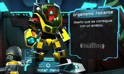 Meka Organismo flotante - Metroid Prime Blast Ball
