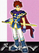 Art oficial de Roy en Super Smash Bros. Melee