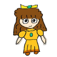 Retrato amiibo de Daisy - WarioWare Gold