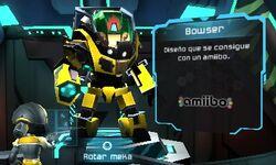 Meka Bowser - Metroid Prime Blast Ball