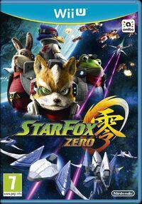 Caja de Star Fox Zero (Europa)