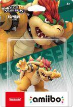 Embalaje NTSC del amiibo de Bowser - Serie Super Smash Bros.