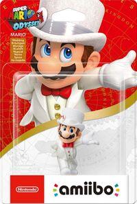 Embalaje europeo del amiibo de Mario (Nupcial) - Serie Super Mario