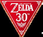 Logo subserie 30 aniversario TLoZ