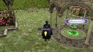 Menú del pabellón amiibo en la primera partida - Fire Emblem Three Houses