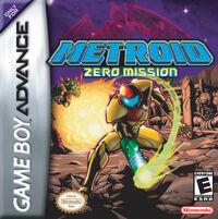 Caja de Metroid Zero Mission (América)