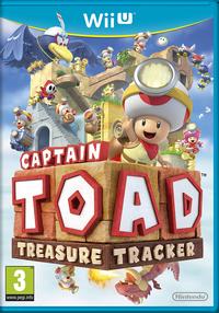 Caja de Captain Toad Treasure Tracker (Europa)
