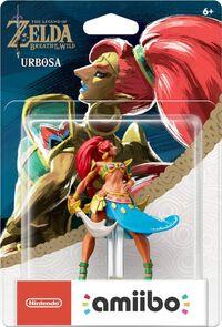 Embalaje americano del amiibo de Urbosa - Serie The Legend of Zelda
