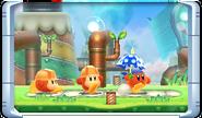 Sombrilla personalizada - Kirby Planet Robobot
