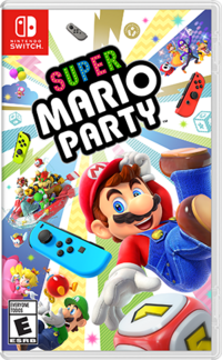 Caja de Super Mario Party (América)