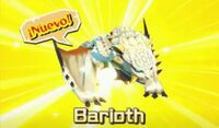 Monsty Barioth - Monster Hunter Stories