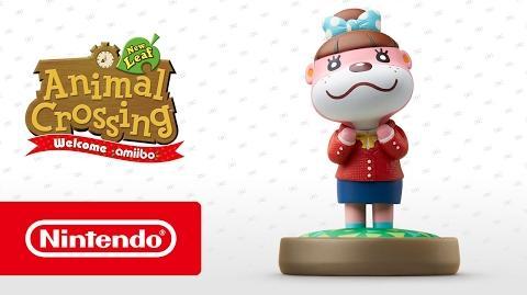 Animal Crossing New Leaf - Welcome amiibo - Nuria (Nintendo 3DS)