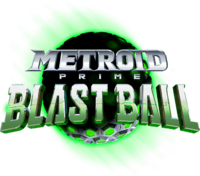 Logo de Metroid Prime Blast Ball