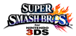 Logo Super Smash Bros. for Nintendo 3DS