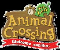 Logo de Animal Crossing New Leaf - Welcome amiibo