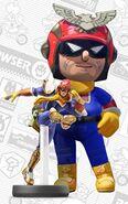 Mii usando el atuendo de Captain Falcon - Mario Kart 8