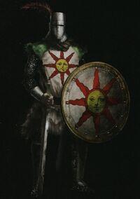 Solaire de Astora en Dark Souls