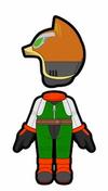 Atuendo de Fox - Mario Kart 8