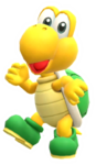 Calcomanía brillante de Koopa Troopa - Super Mario Party