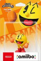 Embalaje NTSC del amiibo de PAC-MAN - Serie Super Smash Bros.
