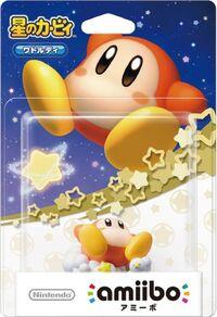 Embalaje japonés del amiibo de Waddle Dee - Serie Kirby
