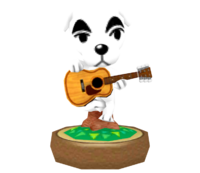 Estatua Mascota musical - Hey! Pikmin