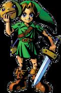 Link en The Legend of Zelda - Majora's Mask