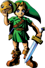 Link en The Legend of Zelda - Majora's Mask